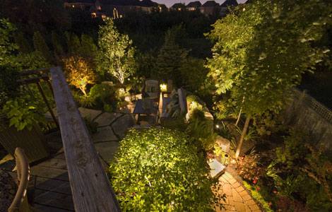 Led landscape lighting in toronto almost every property has a corresponding landscape whether its a home or commercial building unless were talking about a factory or warehouse mozeypictures Images