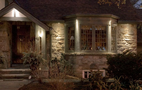 Outdoor Exterior Soffit Pathway Deck Landscape Lighting